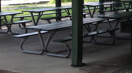 Pavilion Picnic Table