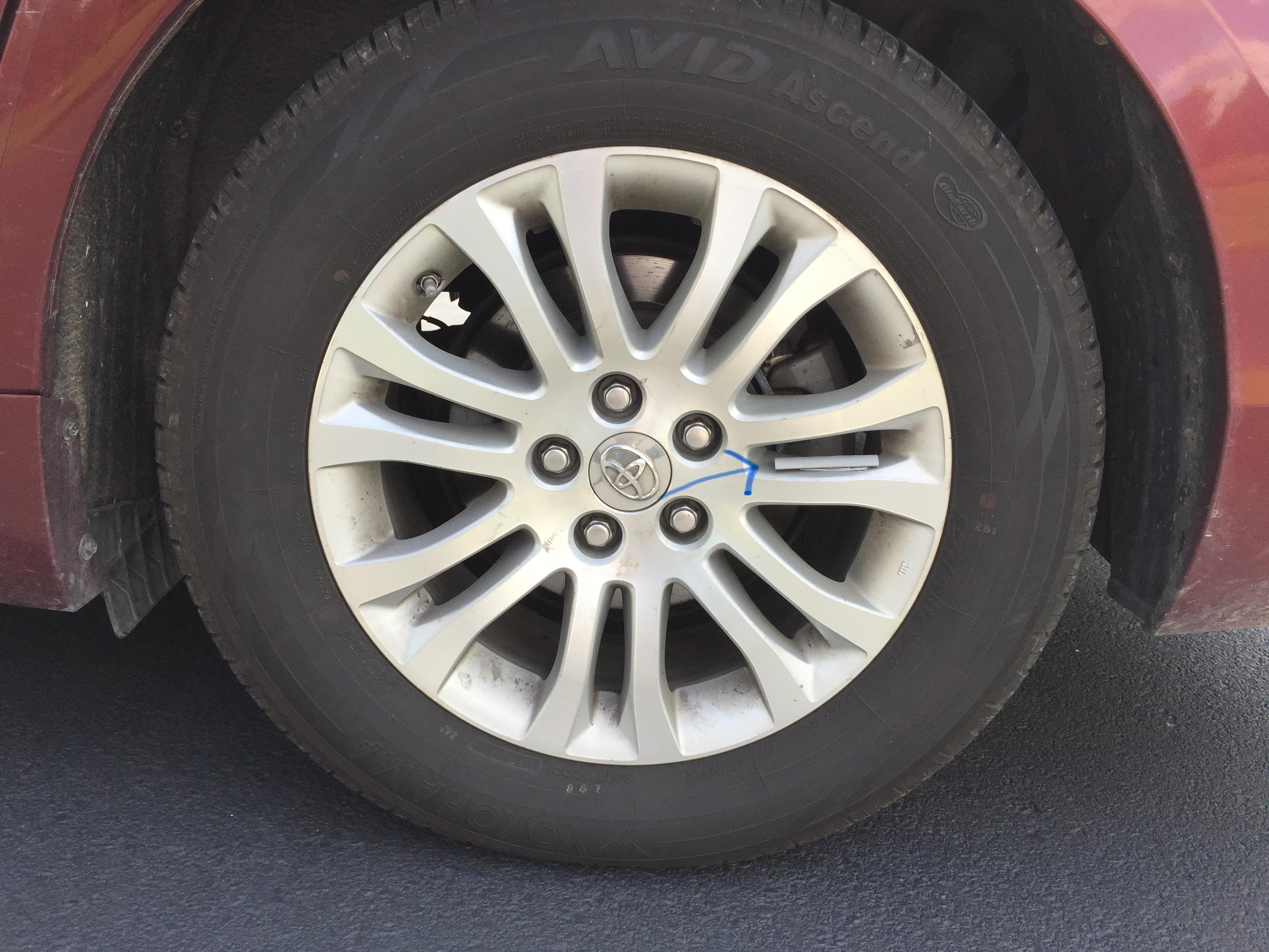 Straw Wheel spoke